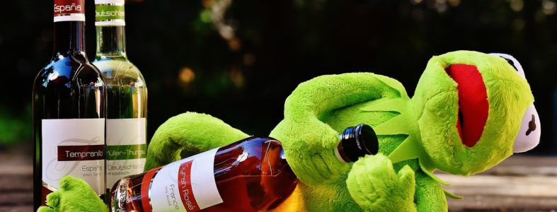 Kermie needs to abstain this St. Patty's Day